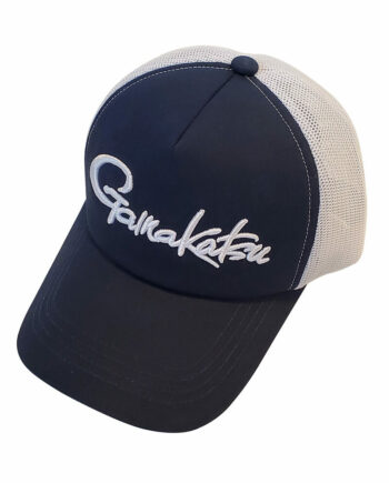Blue White Mesh Hat