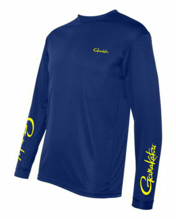 Long Sleeve Performance T-Shirt - Blue